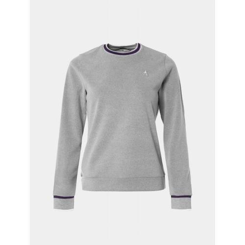 [빈폴골프] 여성 라이트 그레이 백기모 스웨트 셔츠 (BJ0941A182)
