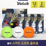 볼빅 스커드 소프트 2피스 골프공 골프볼(10더즌/120구)(퀵배송비 할인)