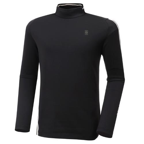 [와이드앵글] 남성 기모 반넥 긴팔 티셔츠 M WMW20241Z1