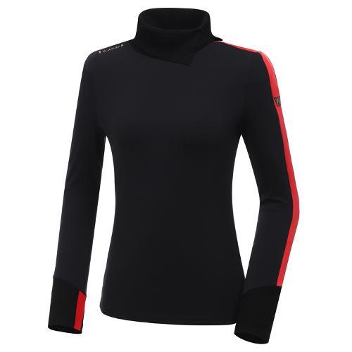 [와이드앵글] 여성 WL 변형 카라 긴팔 티셔츠 L WWW20203Z1