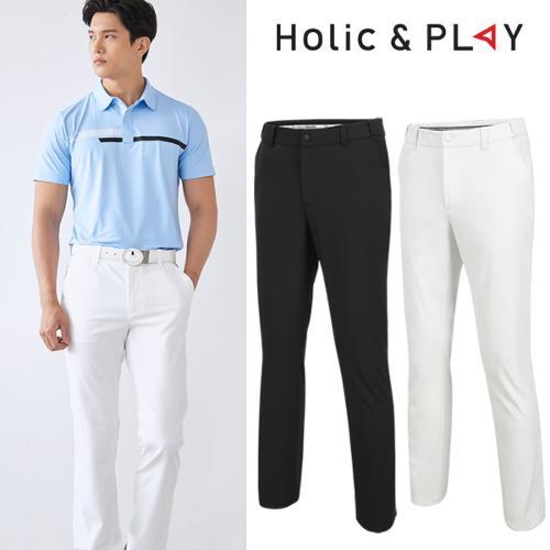 홀릭앤플레이 남성 매직밴딩 골프바지 (HA2MPT001)