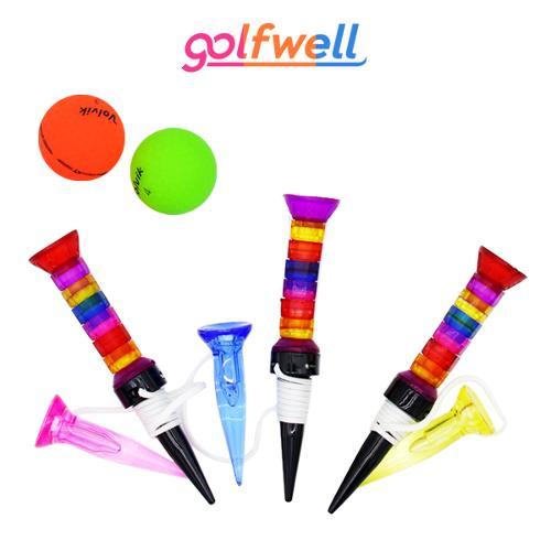 골프웰 다이나믹 롱티/숏티 골프티 1세트(GW053-GT72)