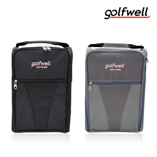 골프웰 golfwell 골프화가방/신발주머니 (GW053-FBG)