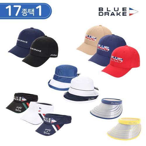블루 드레이크 남성/여성 골프모자/썬캡 17종 택1