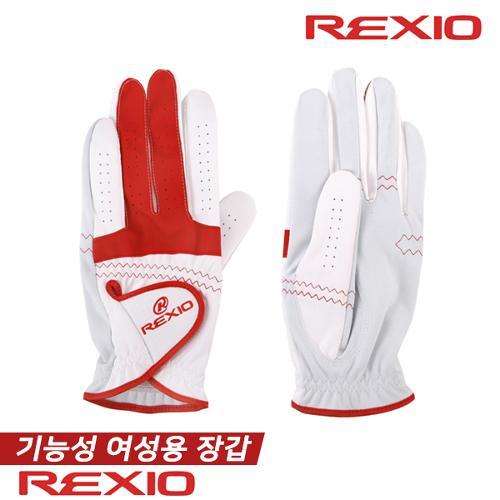 렉시오 REXIO 여성 3밴드 양손 부분양피 골프장갑