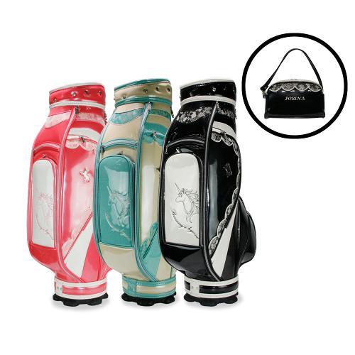 포비나 PB7012 여성 캐디백 파우치백 골프가방