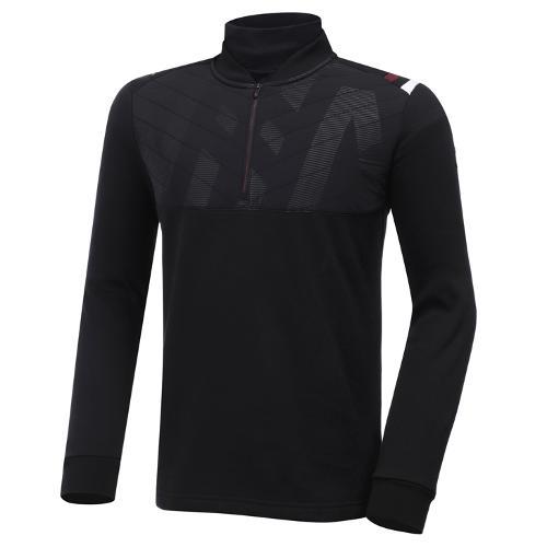 [와이드앵글] 남성 우븐 하이브리드 반짚 티셔츠 M WMW20247Z1