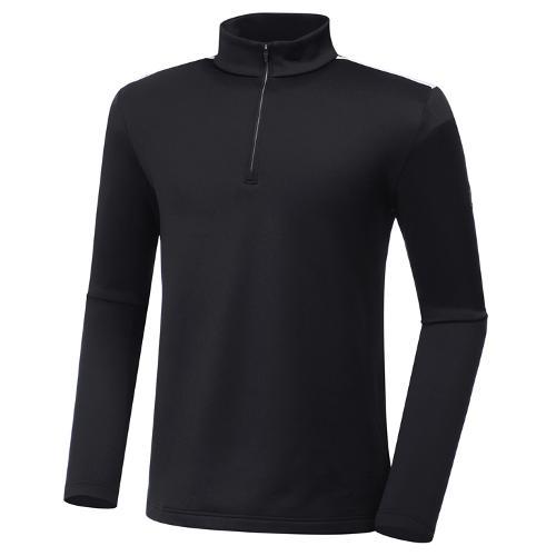 [와이드앵글] 남성 기모 반짚업 긴팔 티셔츠 M WMW20293Z1