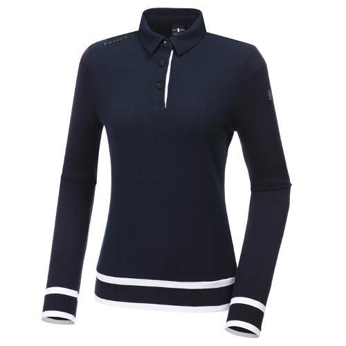 [와이드앵글] 여성 니트 하이브리드 긴팔 티셔츠 L WWW20242N4