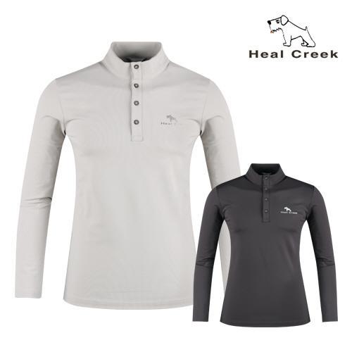 힐크릭 남자 솔리드 골프 스탠드카라셔츠 H63122208