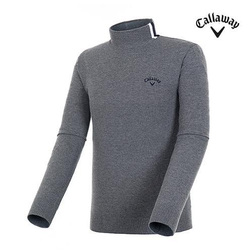 [캘러웨이]남성 스프라이프 솔리드 스웨터 CMSHH3202-193_G