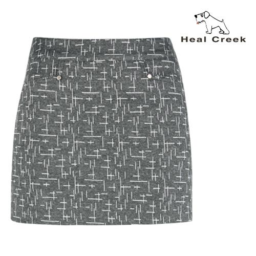 힐크릭 여성 패턴 자수 큐롯 치마바지 H63226006