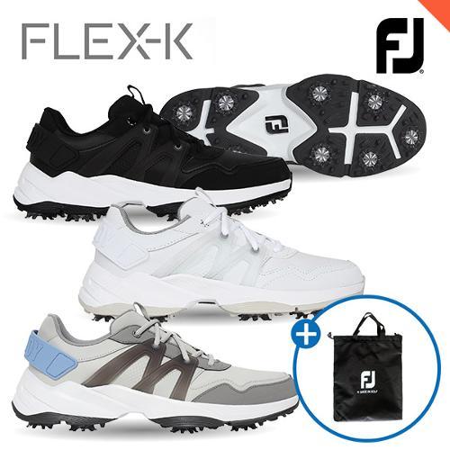 [풋조이] 슈즈백 증정! 플렉스-K FLEX-K 남성 골프화 56501 56502 56503