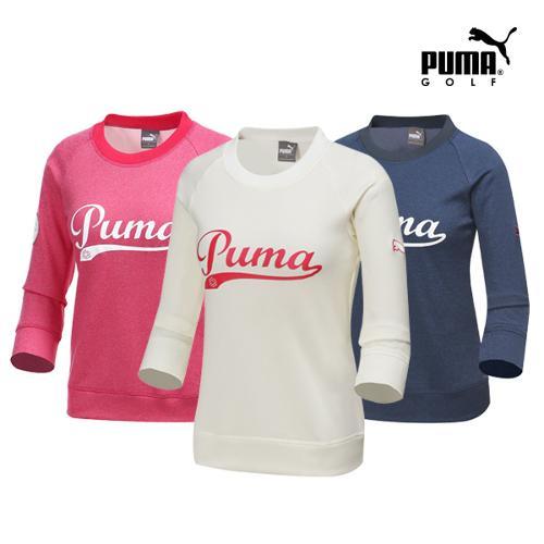 [푸마골프] 여성 패치 포인트 티셔츠 3종 택1_GA