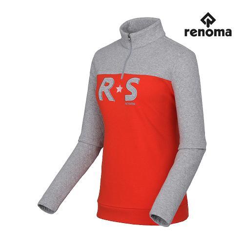 [레노마골프]여성 로고 스타 반집업 티셔츠 RWTHF8107-193_G