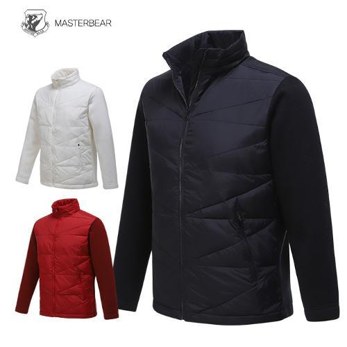 마스터베어 남성 겨울 투어핏 웰론 니트 경량패딩 자켓 W1041