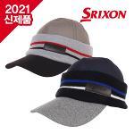 [2021년F/W신제품]던롭 스릭슨 GAH-20032I 프리사이즈 겨울용 니트캡 골프모자
