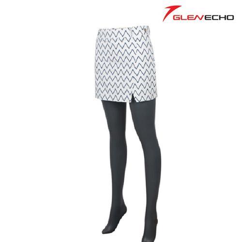 그렌에코 GLENECHO 여성 면 골프치마 (GES8704_WH)
