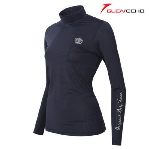 그렌에코 GLENECHO 여성 스판 냉감티셔츠(GES9406W_NY