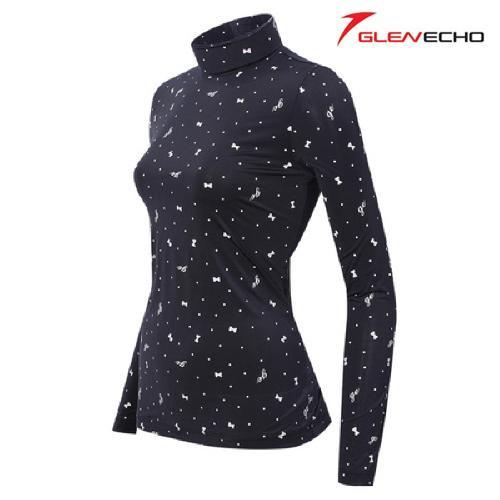 그렌에코 GLENECHO 여성 스판 냉감티셔츠(GES9401W_NY