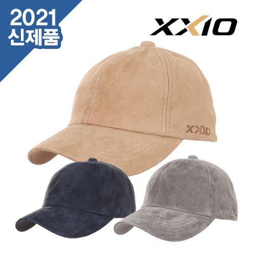 [2021년F/W신제품]젝시오 XMH0123L 네츄럴 스웨드 캡 겨울 방한용 골프캡 모자