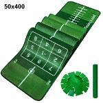 제이빅-50x400 특대/피스탑 골프 퍼팅매트/볼궤적표시