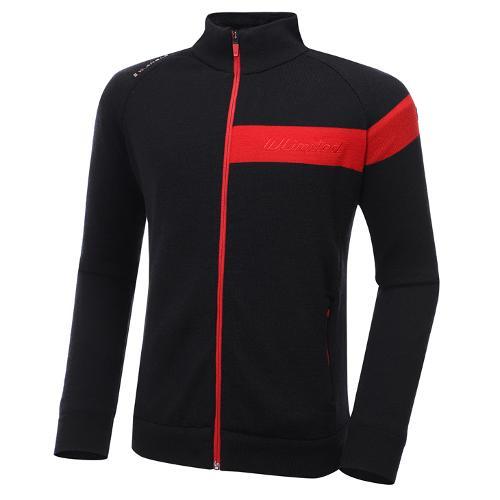 [와이드앵글] 남성 WL 웰딩 다운 풀짚업 방풍 긴팔 스웨터 M WMW20K04Z1