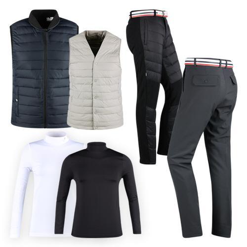 따뜻한겨울을 위한 남녀 필수 골프웨어