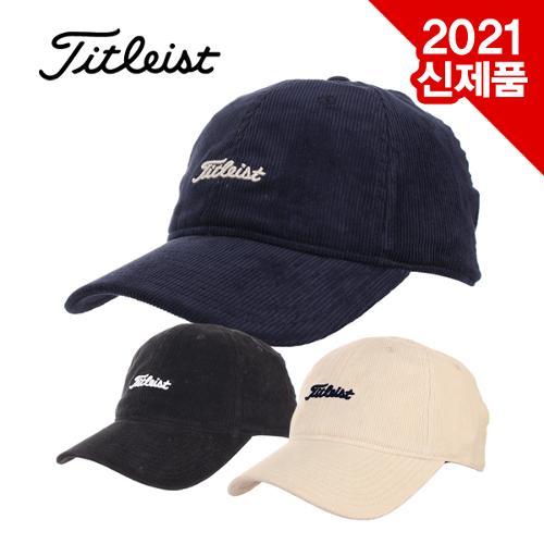 [2021년F/W신제품]타이틀리스트 NANTUCKET CORDUROY CAP 코듀로이골덴 겨울 모자[TH20ANC]