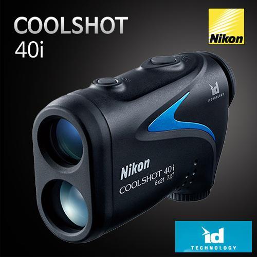 [니콘] 쿨샷 COOLSHOT 40i 레이저 골프 거리측정기
