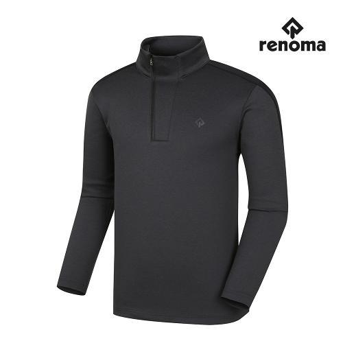 [레노마골프]남성 어깨 배색 반집업 티셔츠 RMTHI3109-195_G