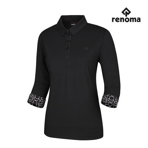 [레노마골프]여성 소매 포인트 카라 티셔츠 RWTYI7106-199_G