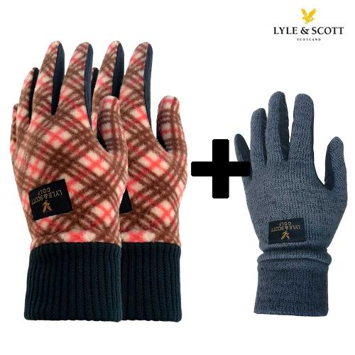 라일앤스콧 겨울골프장갑 2개구매시 아동용 장갑 증