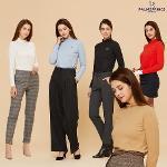 [팜스프링스] 여성 웜 브러시 기모 티셔츠 5종택1