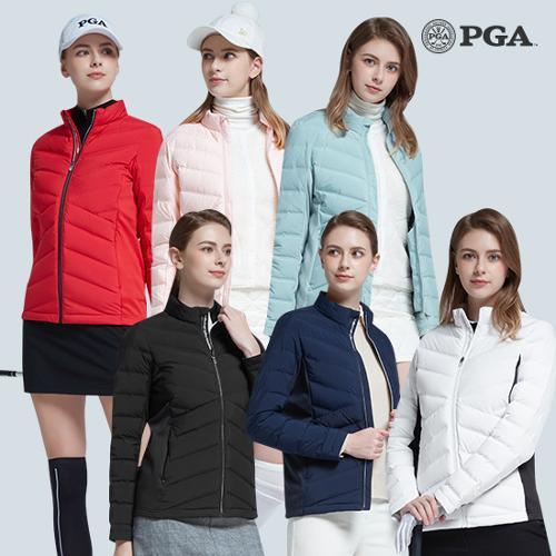 [PGA] 20년 F/W 여성 튜브라이트 프리모션 다운 스윙재킷 6종 택1