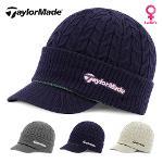 테일러메이드 W KNIT CAP 여성용 방한캡