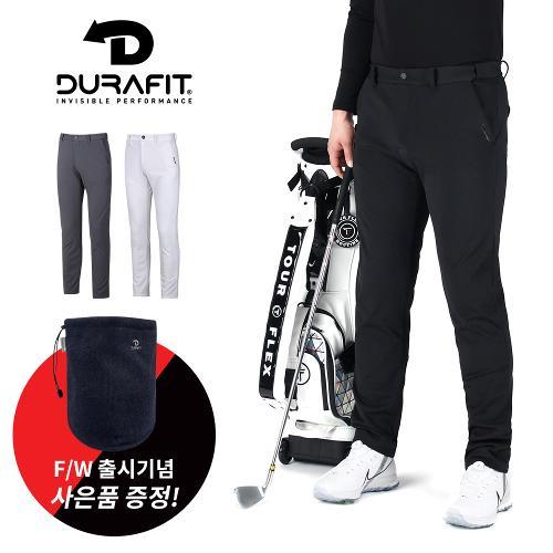(골핑단독 사은품) 듀라핏 남성 릴렉서블 허리밴딩 기모 골프바지 D20F3PT02-A