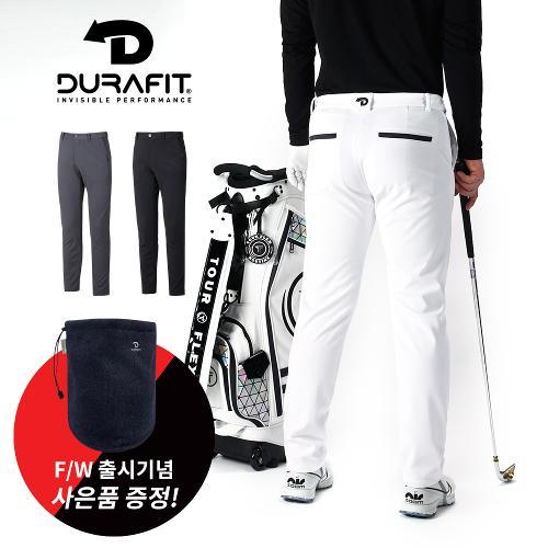 (골핑단독 사은품) 듀라핏 남성 릴렉서블 허리밴딩 기모 골프바지 D20F3PT02-C