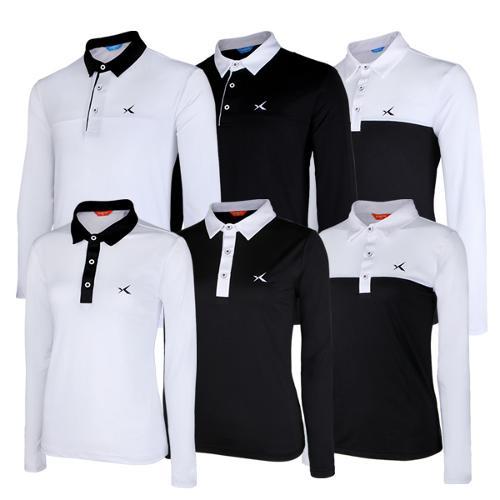 [KAXIYA] 카시야 CB 남/여 기능성 긴팔 골프 티셔츠