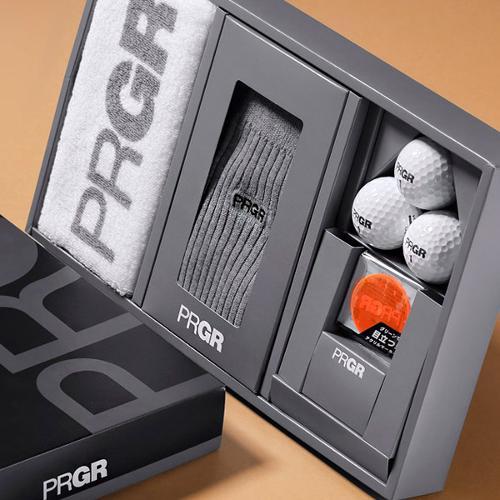 PRGR 양말 골프공 기프트 세트 GFS 183