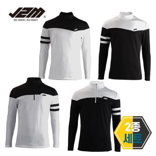 J2M 기모 윈터핏 긴팔티셔츠 2종세트