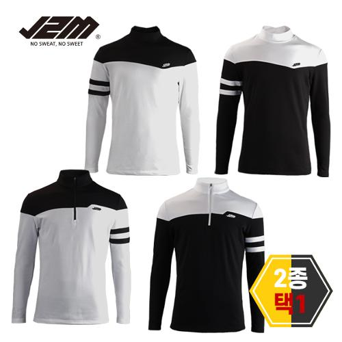 J2M 기모 윈터핏 긴팔티셔츠 2종택1