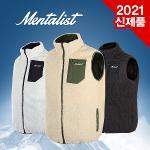 [2021년신제품-국내産]멘탈리스트 플리스/후리스 남/여공용 양면형 겨울 조끼-3종칼라(월가ST)