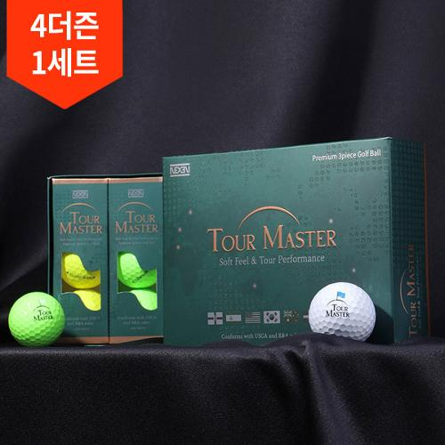 4더즌/넥센투어마스터 소프트필 퍼포먼스 3피스골프공