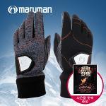 마루망 골프코리아 바닥100%실리콘 프리미엄 남성용 겨울용 양손골프장갑+미스터핫 포켓용 핫팩증정