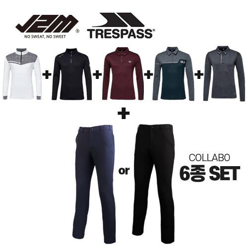 J2M by 트레스패스 윈터 상하의 콜라보 6종세트