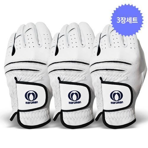 3장세트/마루망정품 천연올양피 여성용 한손 골프장갑-T01