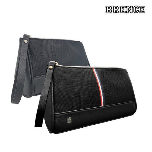 브렌스 블랙 골프 파우치 남여공용 손가방 블랙