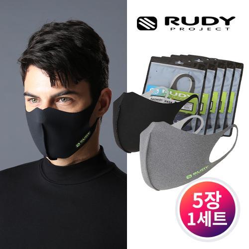 루디프로젝트 구리 항균/방취 기능성 마스크(남/여) 5장 1세트 - 7615-339-101