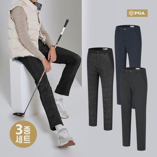 [무료배송]PGA 퍼포머 DX 마스터팩 골프바지 3종세트 PM9W01PA